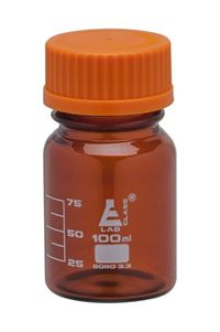 Reagent Bottle - Amber - Screw Cap
