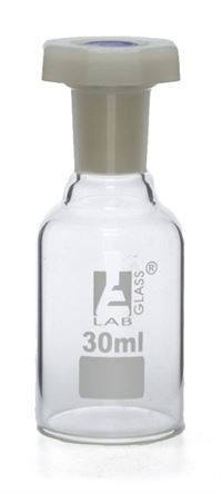 575-810046-00 Reagent Bottle, 30 mL Boro Glass