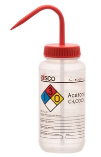 Acetone Performance Plastic Wash Bottle