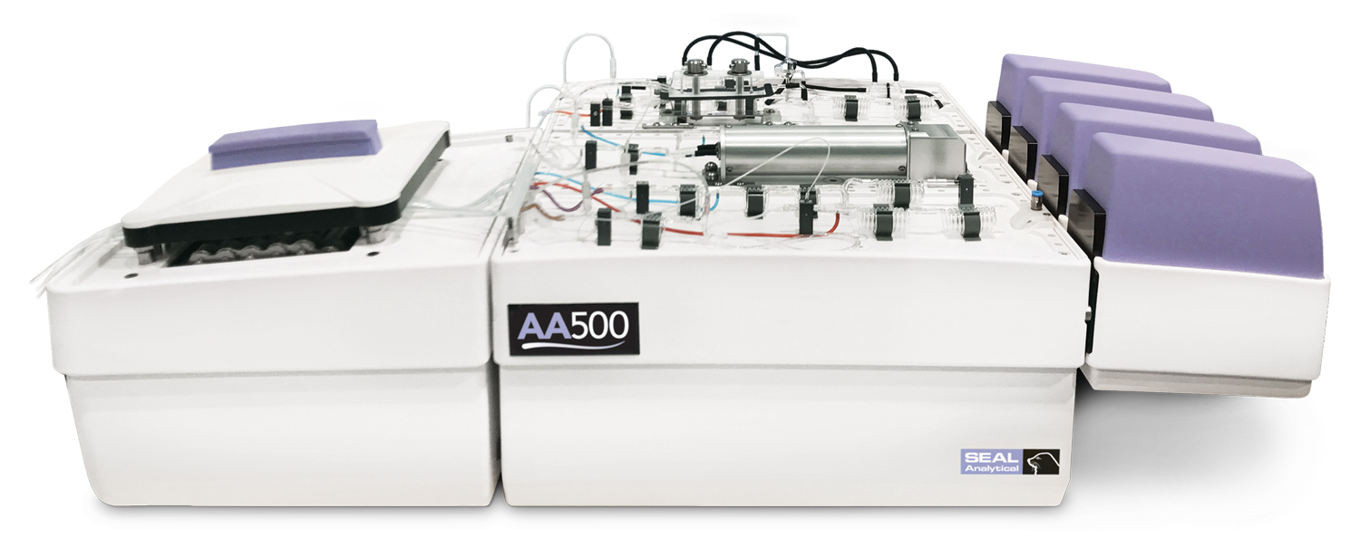 AA500 AutoAnalyzer powerful seawater and water analyzer