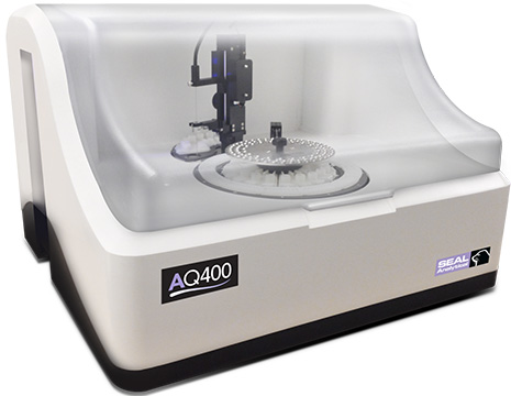 AQ400 Discrete Analyzer for Food and Beverage Analysis