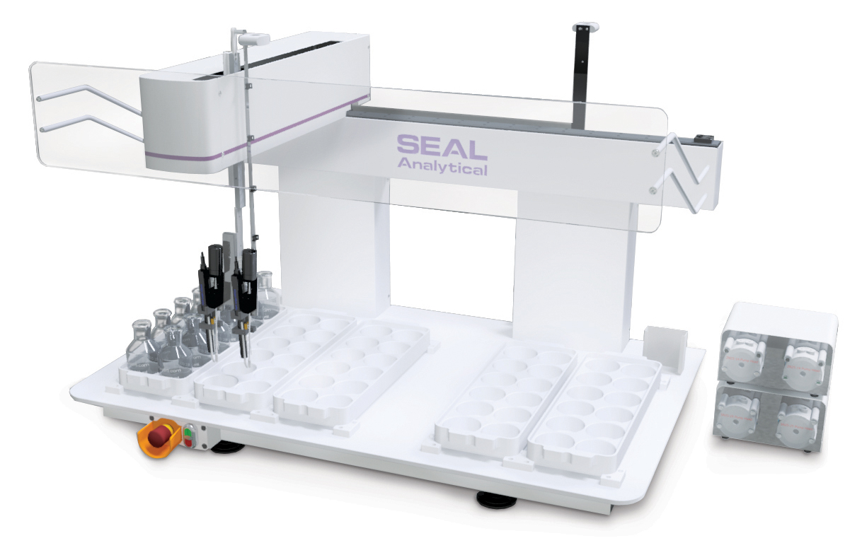 Minilab for Automated Soil Analysis and Sample Preparation