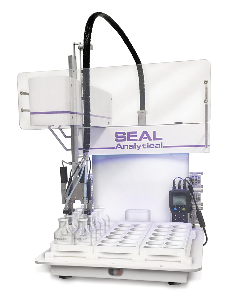SEAL Minilab-s compact Biological Demand Robotic Handling System