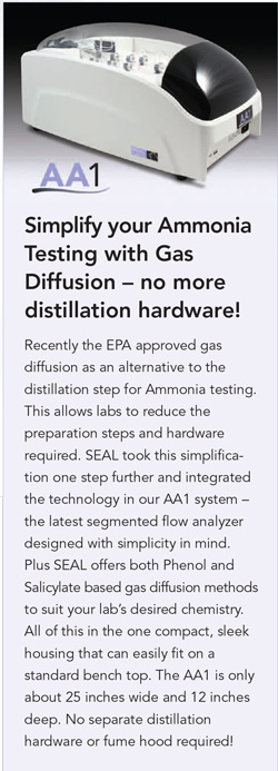 AA1 - Simplify your Ammonia Tesing with Gas Diffusion