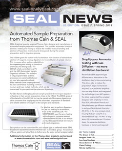 SEAL Analytical Spring 2014 Newsletter - US Edition